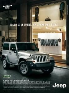 Nuovo Jeep Wrangler scoprilo da Spazio la città dell'auto Torino