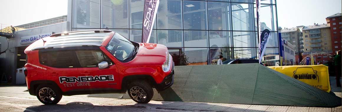 Spazio ti aspetta a Bardonecchia con Fiat 500X e Jeep Renegade!