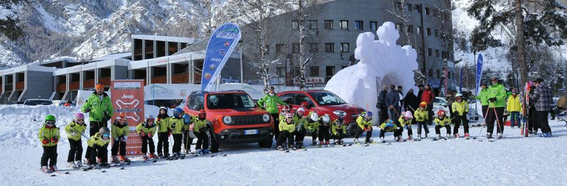 Fiat 500X e Jeep Renegade sulla neve di Bardonecchia… ecco come è andata