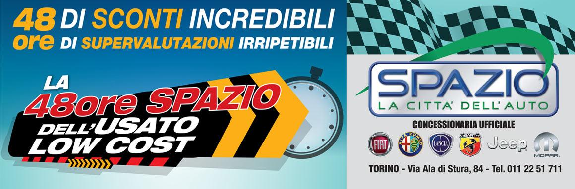 Grandi sconti e supervalutazioni! Spazio vi aspetta il 18 e 19 aprile a Torino.