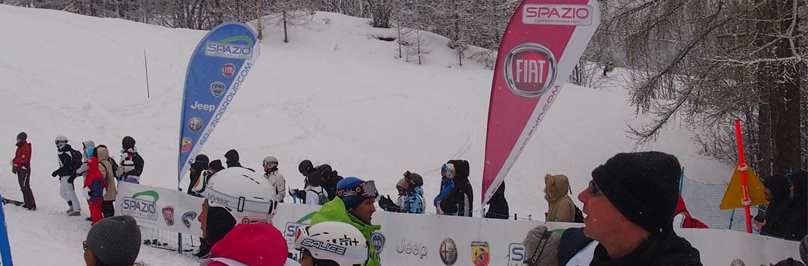 Grande evento a Bardonecchia con la scuola di sci Spazio Neve
