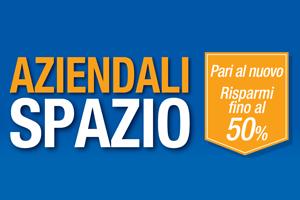 Vieni da Spazio e scopri le nostre auto aziendali scontate fino al 50%!