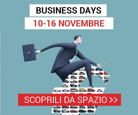 Da Spazio arrivano i Business Days dal 10 al 16 Novembre