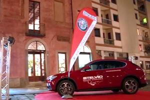 Spazio presenta il nuovo SUV Stelvio a Torino