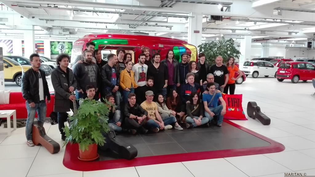 Una giornata in musica con Red Ronnie ed il Fiat Music Tour da Spazio a Torino