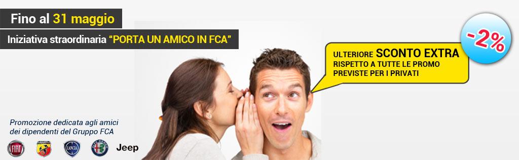 Iniziativa straordinaria – Porta un amico in FCA