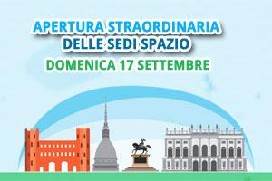 Domenica ecologica a Torino: sedi Spazio aperte!