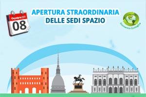 Domenica ecologica a Torino: sedi Spazio aperte