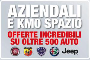 Offerte auto aziendali e Km 0 da Spazio a Torino