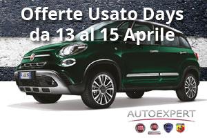 Usato Days dal 13 al 15 Aprile da Spazio a Torino