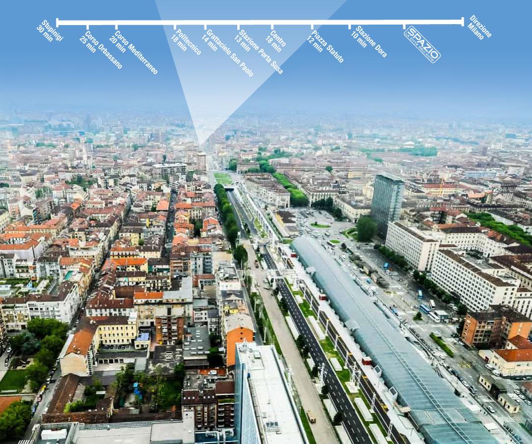 Con il nuovo Viale della Spina, Spazio è nel cuore di Torino!
