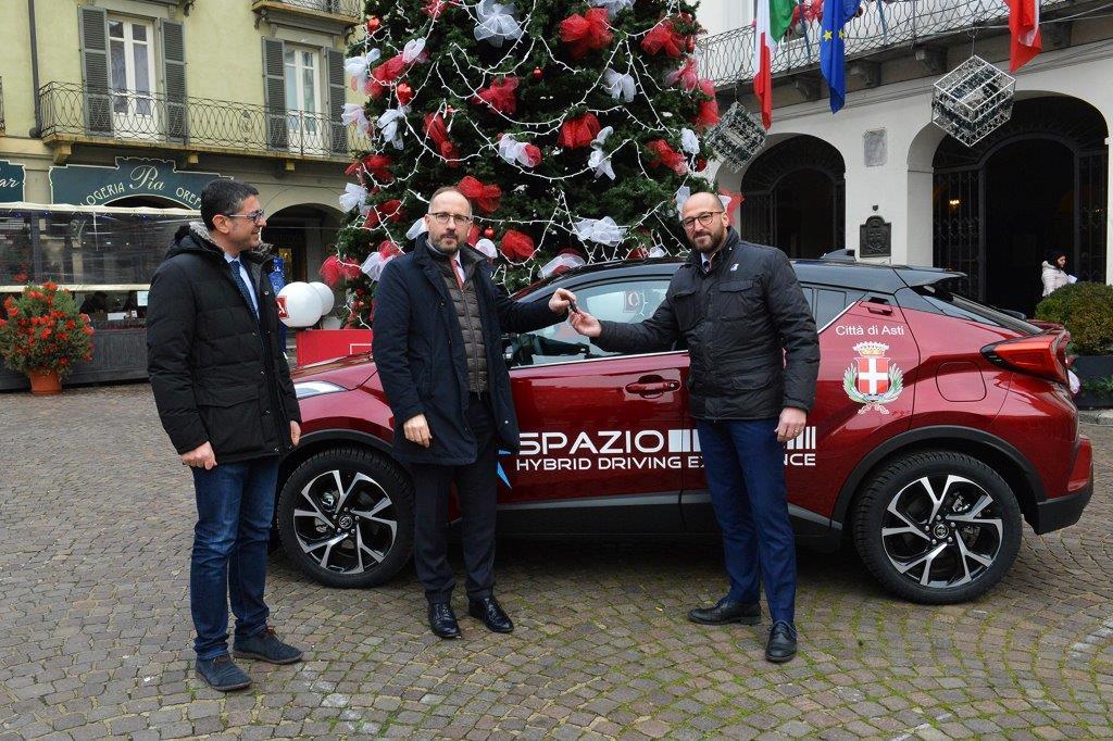 Spazio Group: una Toyota C-HR Hybrid per il Sindaco di Asti