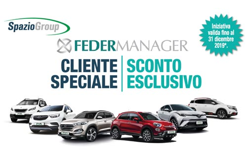 Convenzione Feder Manager