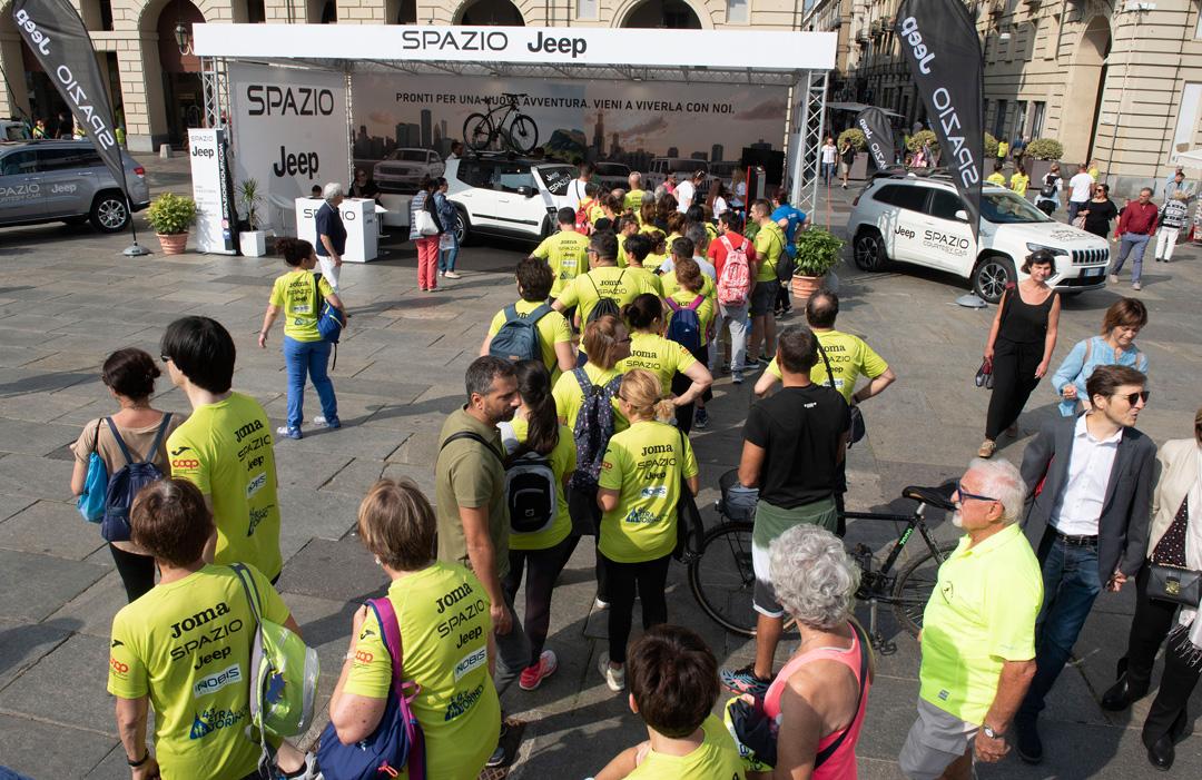 Spazio Jeep ha corso con StraTorino 2019 verso un futuro più sostenibile!