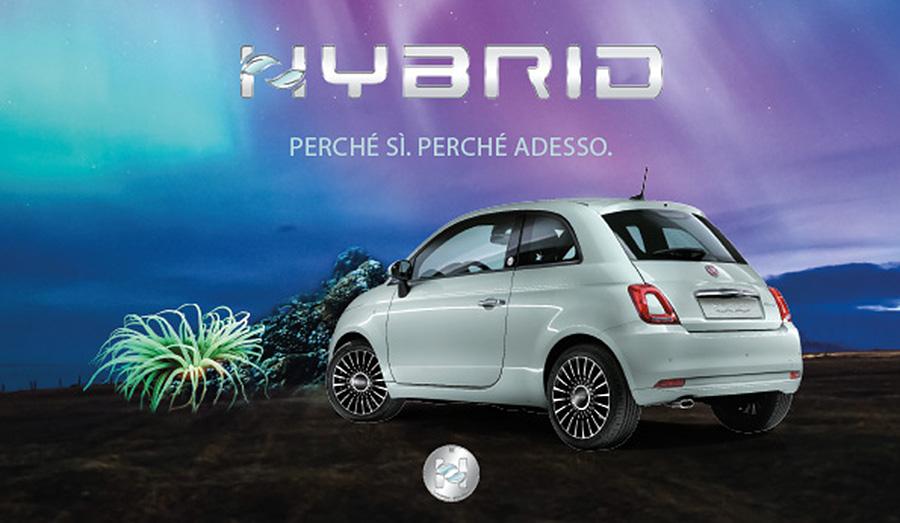 Presentazione nuova Fiat 500 Hybrid