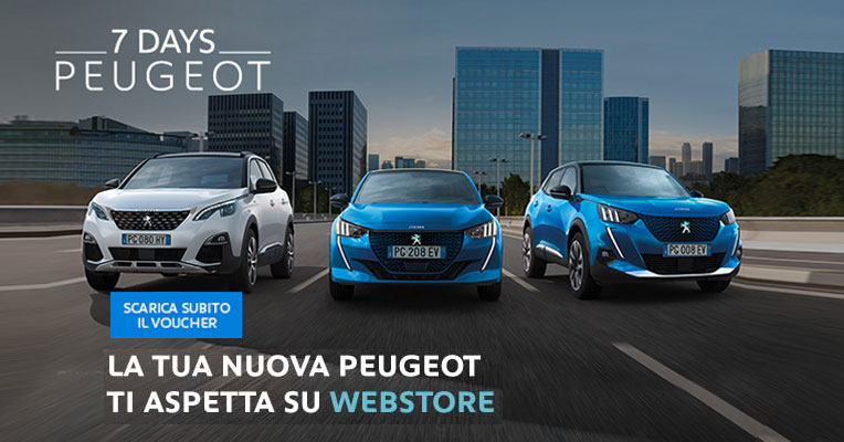 Nuovo Peugeot Webstore