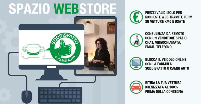 Spazio Web Store