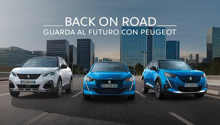 Peugeot Back on Road, solo fino al 31 Maggio