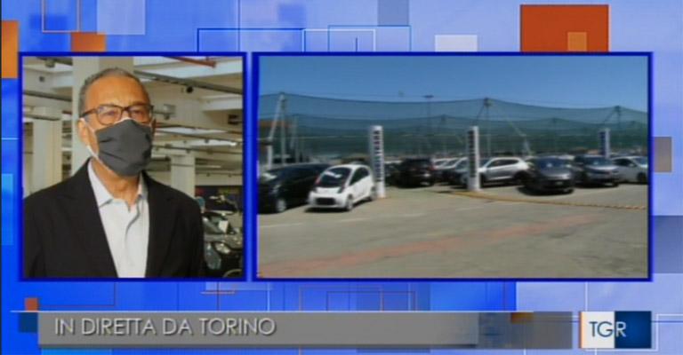 Outlook sul mercato auto durante l'emergenza sanitaria. Il TGR Piemonte passa la parola a Spazio Group.