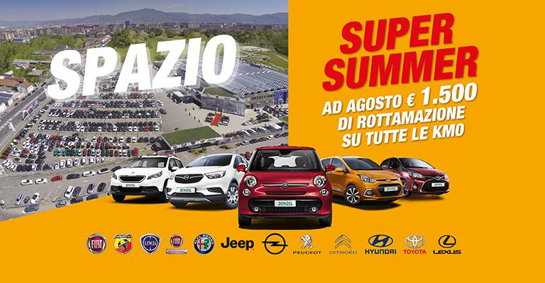 Super Summer Spazio Solo da Spazio la tua prossima <b></noscript><img class=