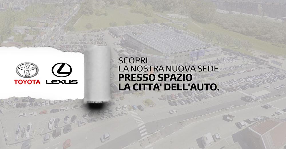 """Spazio: nuove sedi Toyota e Lexus all'interno della """"Città dell'Auto"""""""