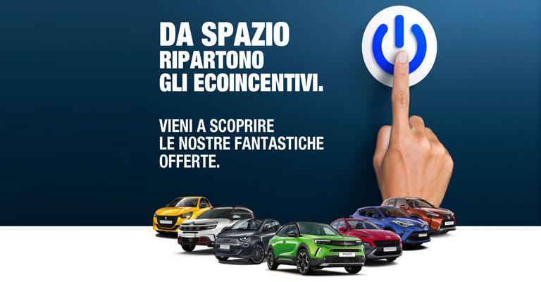 Da Spazio ti aspettano gli incentivi!
